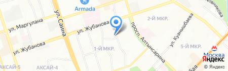 Милосердные руки на карте Алматы