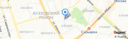 Центр дневного пребывания для детей-инвалидов с психоневрологическими патологиями г. Алматы на карте Алматы