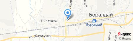 Эдельвейс на карте Боралдая