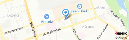 Гулдер на карте Алматы
