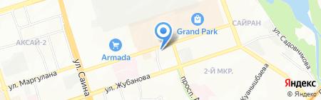 Бюро по работе с должниками ТОО на карте Алматы