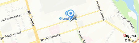 Нур-Дем на карте Алматы