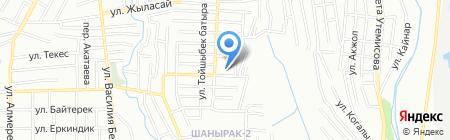 Управление государственных доходов по Алатаускому району на карте Алматы