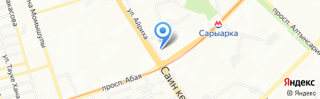 Нотариус Ибраева Р.Р. на карте Алматы