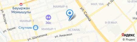 EXOR KZ на карте Алматы