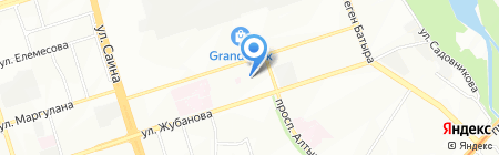 Нурлы сеть продуктовых магазинов на карте Алматы