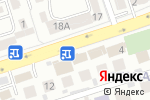 Схема проезда до компании Сентрас Иншуранс в Алматы