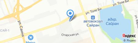 ПАРУС на карте Алматы