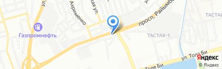 Маржан на карте Алматы