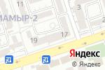Схема проезда до компании Отбасы жане Денсаулык в Алматы