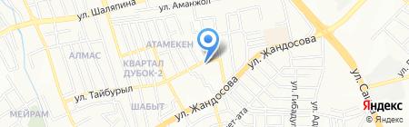 Hi-Tech AMG на карте Алматы