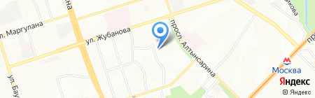 Умит продуктовый магазин на карте Алматы