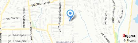 Управление жилья Алатауского района г. Алматы на карте Алматы