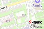 Схема проезда до компании Умнички в Алматы