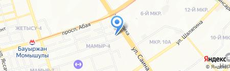 ESN FIRE на карте Алматы