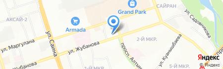 Бэлла-Фарм на карте Алматы