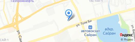 Плюс на карте Алматы