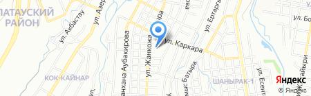 Общеобразовательная школа №26 на карте Алматы