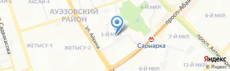 АвтозвукKZ на карте Алматы