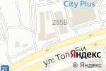Схема проезда до компании GraSS в Алматы