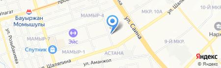 Vivasvat на карте Алматы