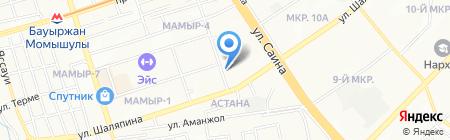 ДИЛИЖАНС-ШОУ на карте Алматы