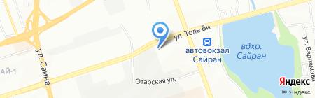 Арнур Кредит на карте Алматы