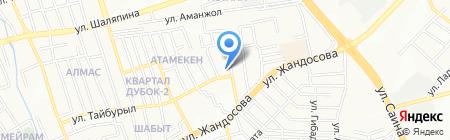 ЭкспрессАвтоСервис на карте Алматы