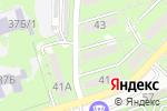 Схема проезда до компании Мира в Алматы