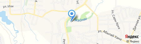 Общеобразовательная школа №15 им. К. Азербаева на карте Боралдая