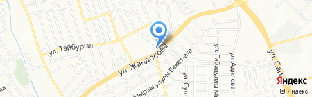 На Центральной на карте Алматы