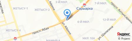 TONUS ELAST КАЗАХСТАН на карте Алматы