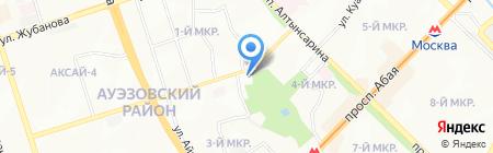 Family Bowling на карте Алматы