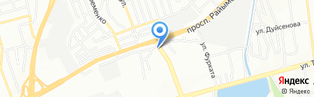 Хабиби на карте Алматы