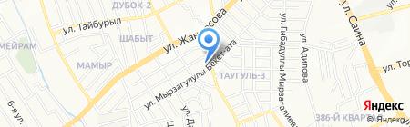 Scout-gps.kz на карте Алматы