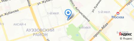 Мира на карте Алматы