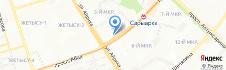 ЖЕР на карте Алматы