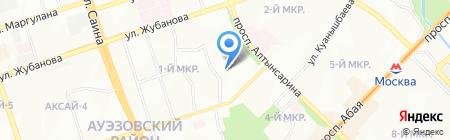 Бопем на карте Алматы