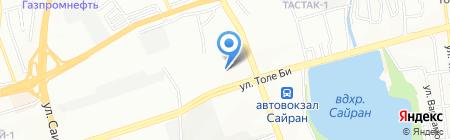 Omegeral на карте Алматы