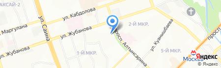 Сарыарка на карте Алматы