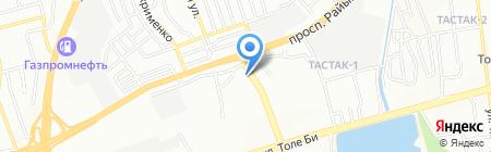 Казтрансформатор на карте Алматы