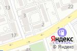 Схема проезда до компании Beauty Club Fazza в Алматы