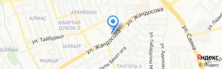 Chalet Shtof на карте Алматы