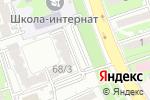 Схема проезда до компании Чулочки М в Алматы