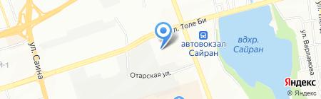 КапСтрой Алматы на карте Алматы