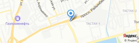 Копировальный центр на карте Алматы