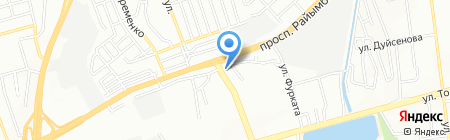 Служба эвакуации на карте Алматы