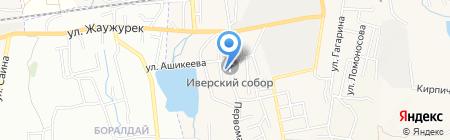 Церковь пос. Боралдай на карте Боралдая