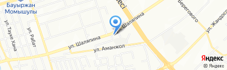 Stars на карте Алматы