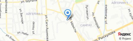 Управление государственного санитарно-эпидемиологического надзора по Алатаускому району на карте Алматы